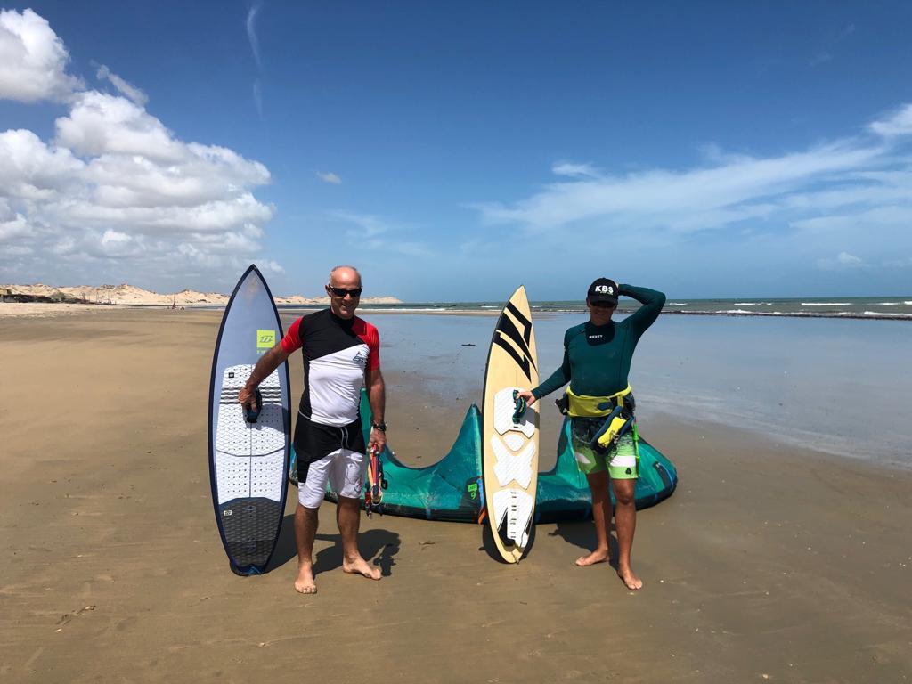 kitesurf downwind brésil