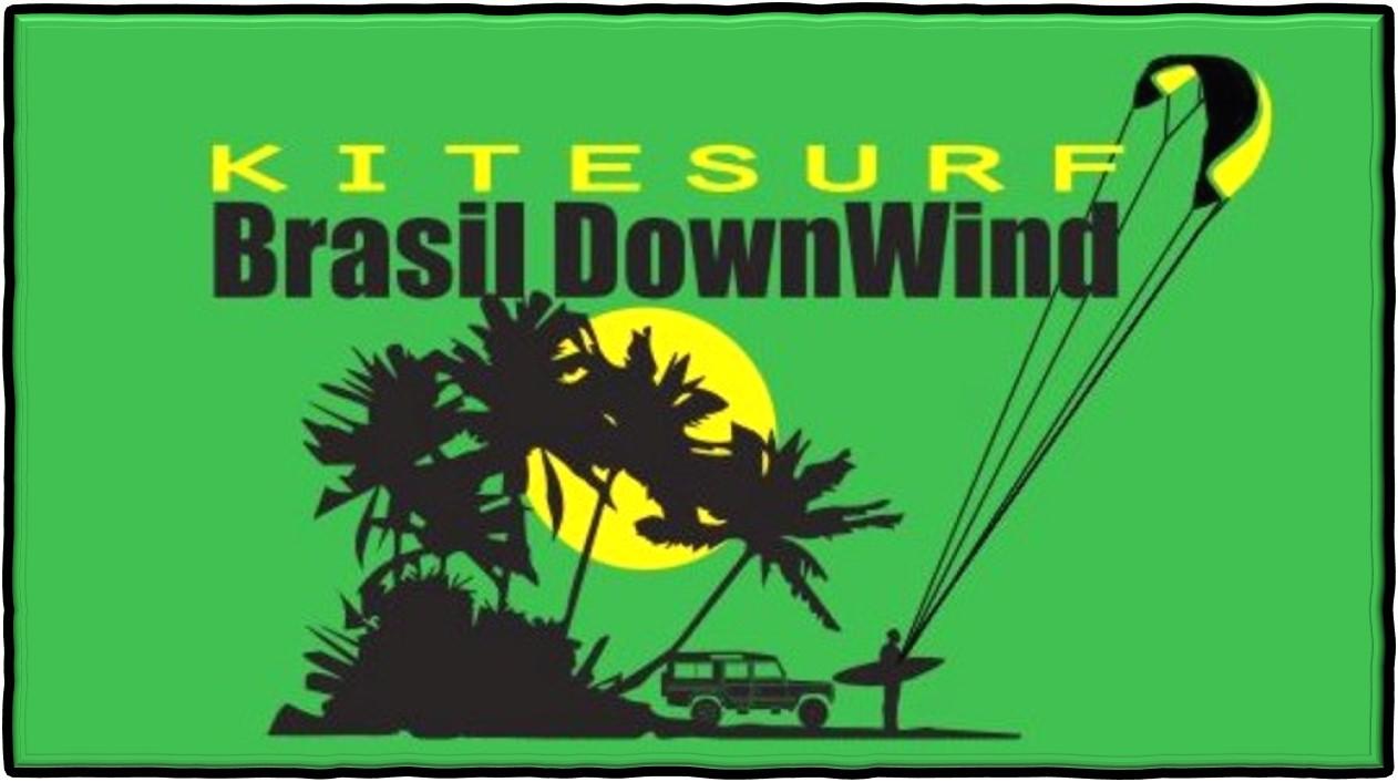Logo Brasil DOWNWIND KITESURF
