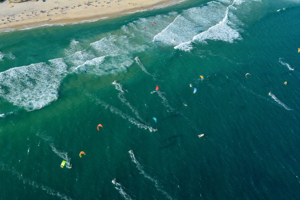 bonne vague kitesurf